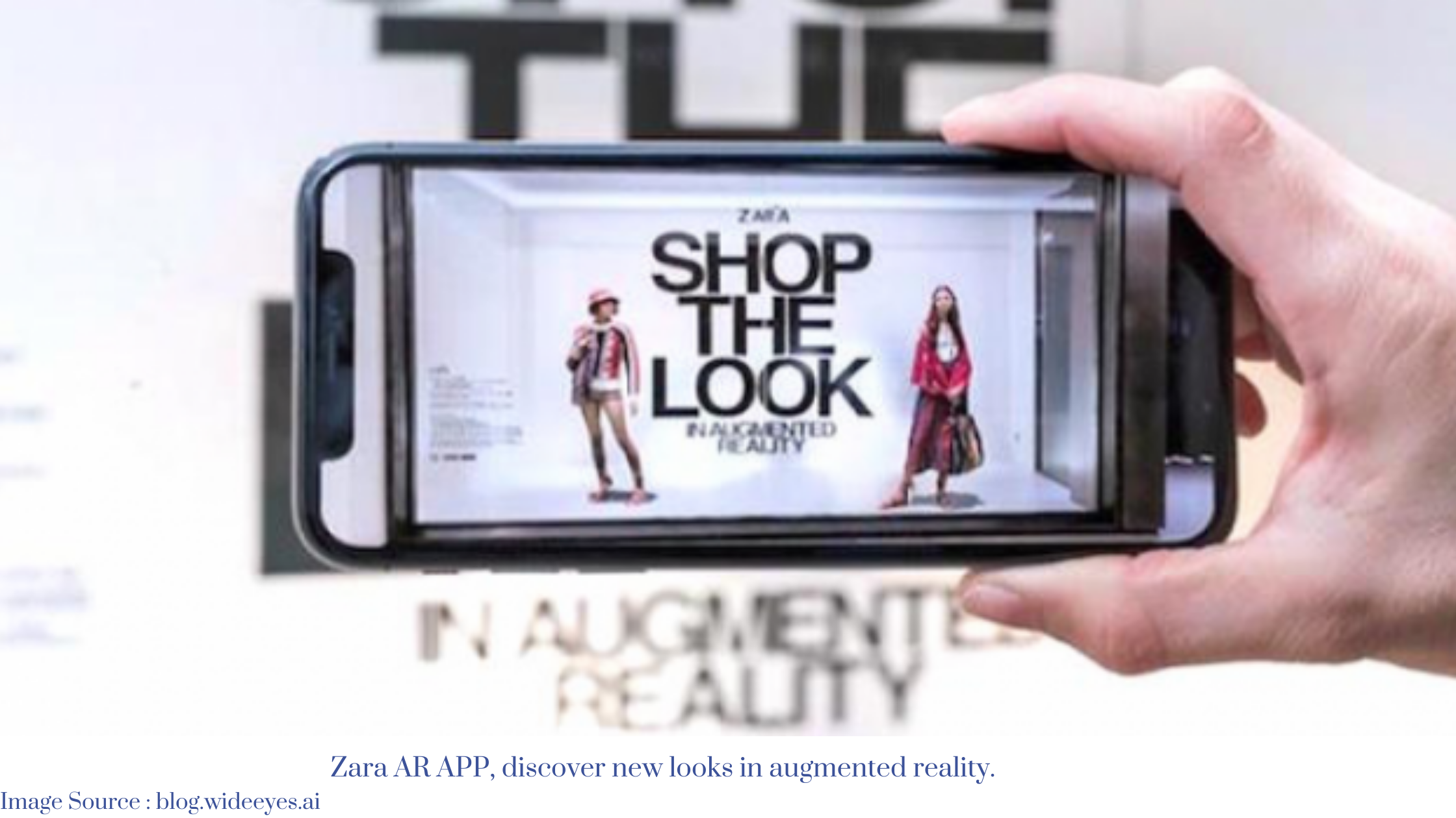 Zara and 'How to Use Customer Intelligence' with Augmented Reality